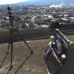 【HDR-AS200V】タイムラプス撮影、徒歩旅で使う 身軽な3点セットはコレ