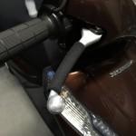【バイク防寒グッズ】ブレーキレバーグリップで冬のツーリング寒さ対策【リード125】
