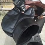 【バイク防寒グッズ】OSSハンドルカバーの装着レビュー【リード125】