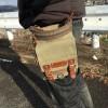 【シザーケース】ひらくPCバッグと併用すると最高に便利なカバンを見つけました。