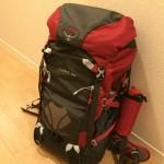 登山用ザックをカメラバッグとして使ってみる【収納・道具・ウルトラライト】