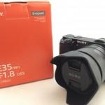 ソニー Eマウント単焦点E 35mm F1.8 OSSと標準レンズのボケ比較レビュー