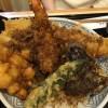 【小田原グルメ】黒天丼・海老蔵 テーブルの配置が最悪でした。