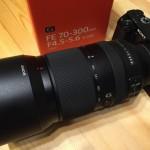 α6000でソニーFE70-300mm望遠レンズとキットレンズの比較